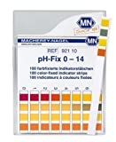 SEOH 0-14 pH indicator strips 100/box
