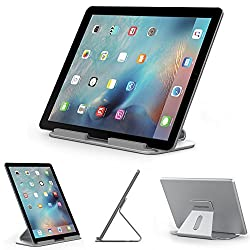 Pasonomi® Aluminium Alloy Tablet Stand for iPad Pro, Surface Pro 4, and more 7-13 inch Tablet PC