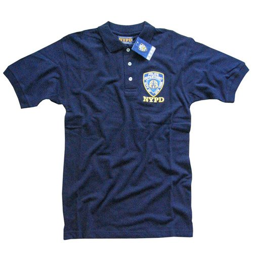 Polo shirts embroidery embroidery origami for Embroidered police polo shirts