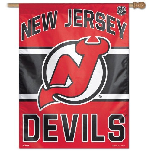 NHL New Jersey Devils 27-by-37-Inch Vertical Flag