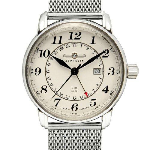 Zeppelin orologio da polso analogico al quarzo acciaio for Prezzo acciaio inox al kg
