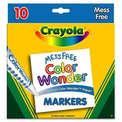Color Wonder Broad Line Markers 10-Pack