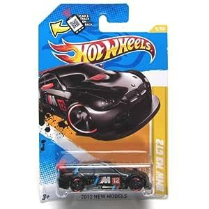 2012 Hot Wheels New Models BMW M3 GT2 Black #5/247
