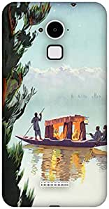 The Racoon Grip printed designer hard back mobile phone case cover for Coolpad Note 3. (Kashmir)
