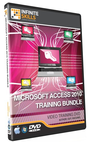 Discounted Microsoft Access 2010 Training Bundle (DVD) Over 17 Hours of Training