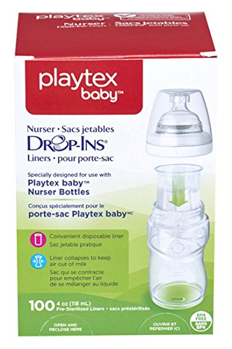 Playtex Drop-Ins 4 oz Liners, 100 ct - 1