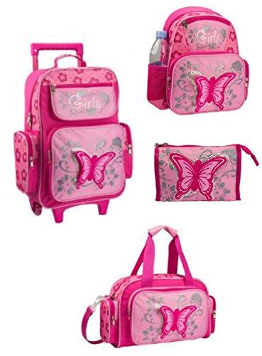 apc-lederwaren-equipaje-infantil-rosa-rosa-medium