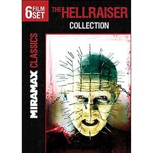 The Hellraiser Collection (III: Hell on Earth / IV: Bloodline / V: Inferno / VI: Hellseeker / VII: Deader / VIII: Hellworld)