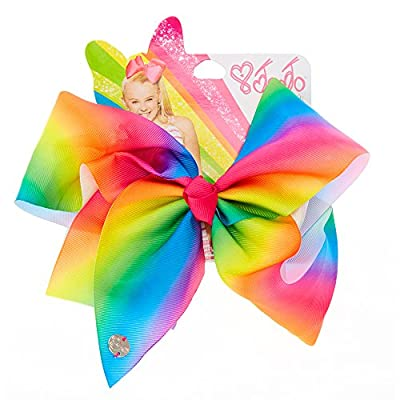 Claire's Accessories JoJo Siwa Large Rainbow Signature Hair Bow