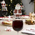 Let It Snow Father Christmas Glass De...