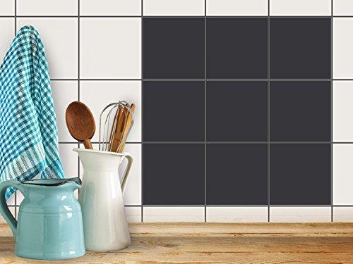 k chenfliesen klebe fliesenaufkleber fliesen zum aufkleben bad folie wanddeko 10x10 cm farbe. Black Bedroom Furniture Sets. Home Design Ideas