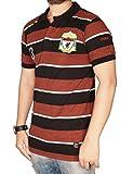 The Desi Attire Collar T shirt For Men (Polo Tshirt _ Stripes _ Pique Cotton Fabric _ Matty_ ) (Brown, Medium)