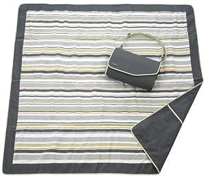 JJ Cole Outdoor Blanket,Blue Orbit, 5' x 5' from JJ Cole