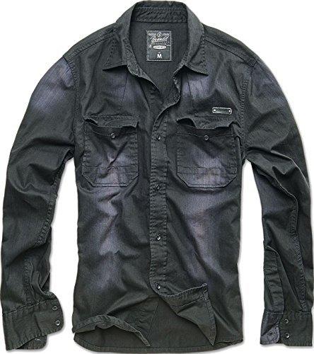 Brandit Hardee Camicia nero M