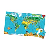 LeapFrog LeapReader World Puzzle Map (Works with Tag)