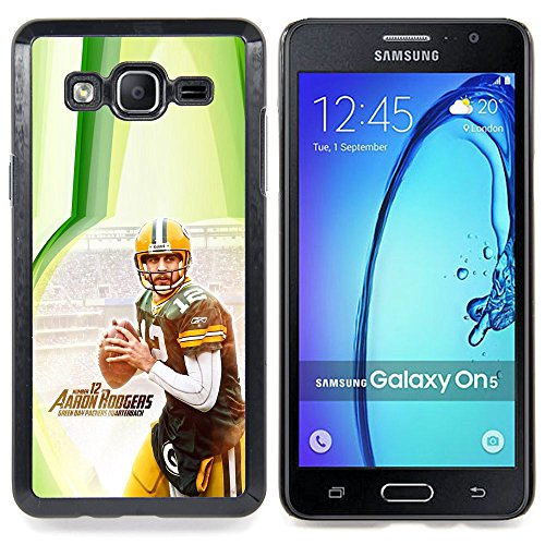 - Aaron Rodger 12 NFL - - Copertura della cassa impatto con Art Pattern Design FOR Samsung Galaxy On5 SM-G550FY G550 Queen Pattern