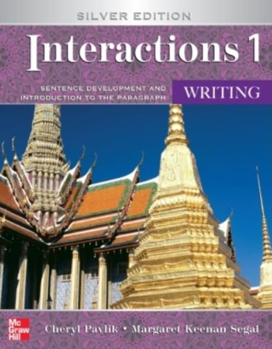 Interactions 1 Writing, Silver Edition (Student Book)