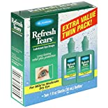 Allergan Refresh Tears Lubricant Eye Drops, For Mild to Moderate Dry Eye, Extra Value Twin Pack, 2 - 1 fl oz (30 ml) sterile bottles