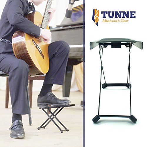 Tunne Guitar Foot Stool Rest Is Adjustable For Hours Of