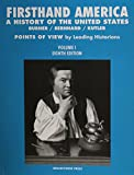 img - for Firsthand America: A History of the United States, Volume 1 book / textbook / text book