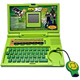 Ben 10 English Learner Laptop For Kids 20 Activities (Green) Kids Choice