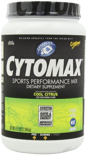 CytoSport Cytomax Sport Energy Drink, Cool Citrus, 4.5 Pound