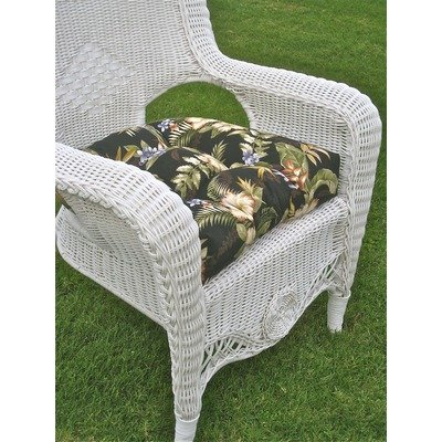 Kingsbury Outdoor Wicker Game Patio Set Finish White