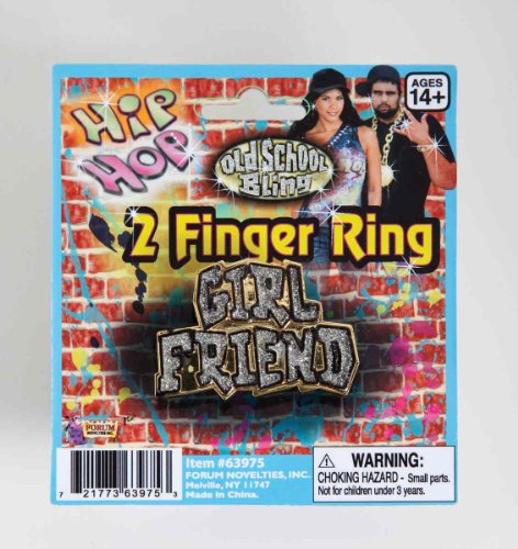 Hip Hop Girlfriend 2 - Finger Ring (Pack of 12)