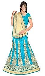 Vaishali TexStile Women's Net Unstitiched Dress Material 1080_Multicolor