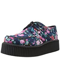 T.U.K. Unisex A8521 Hawaian Style Floral Mondo Creepers