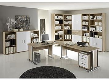 Buro Office Line Eiche Sonoma 11-teilig