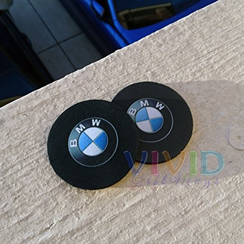 pair-of-bmw-car-coasters-highly-absorbent-for-any-bmw-cup-holders-2pcs