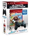 PS3 DualShock3 - Black and LittleBigP...