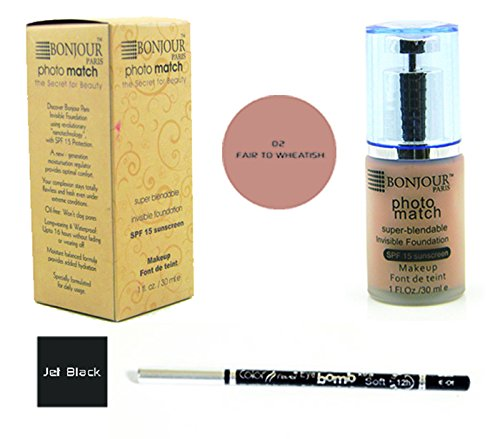 Color Fever Bonjour Paris Pump Foundation + Color Fever Kohl Eye Pencil