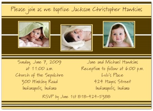 Baptism Invitations Photo front-271218