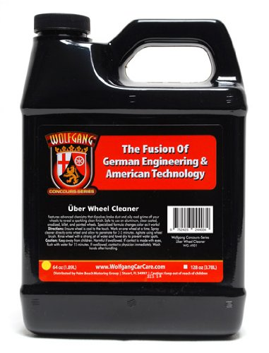 Wolfgang Uber Wheel Cleaner 64 Oz front-540846