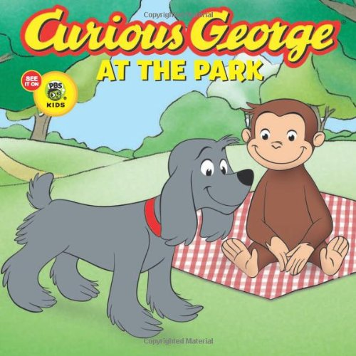 Curious George At The Park (Cgtv Touch-And-Feel Board Book) front-825439