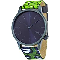 Komono Winston Vlisco Dark Blue Dial Snake Print Ladies Watch (W2902)