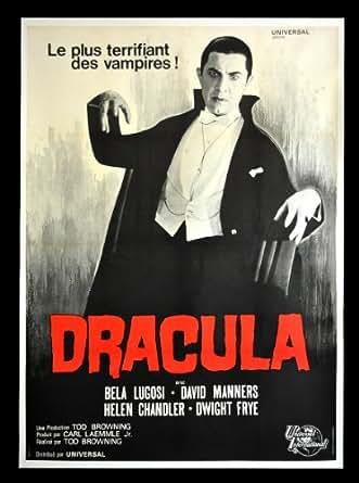 DRACULA * CineMasterpieces 1960'S FRENCH BELA LUGOSI ...