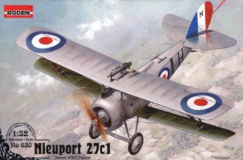 Roden 630 Nieuport 27c1 1:32 Plastic Kit