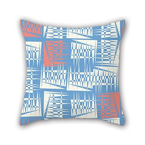 NICEPLW Cushion Cases Of Colorful Geometry 16 X 16 Inches / 40 By 40 Cm,best Fit For Kids,teens Boys,boys,wife,kids Room,play