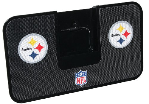 NFL Pittsburgh Steelers Portable Premium IDock with Remote Control