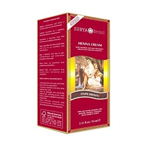 Surya Brasil - Henna Brasil Cream Hair Coloring with Organic Extracts Dark Brown - 2.31 oz. Coupons Promo Codes Discounts 2013 images
