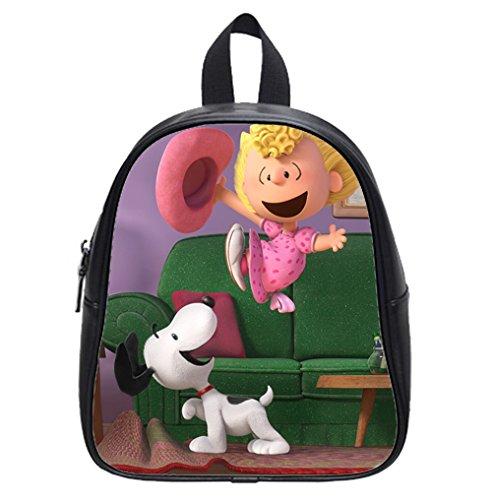 Custom Peanuts Charlie Brown Snoopy Kid's Backpack School Bag for kindergarten