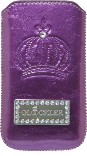 Galaxy S3 Mini Harald Glööckler Handytasche Sleeve Carat Purple von x-squeeze-it