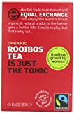 Equal Exchange Organic Fairtrade Rooibos 40 Teabags (Pack of 6, Total 240 Teabags)