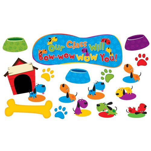 Our Class Will Bow-Wow Wow You! Bulletin Board back-909759