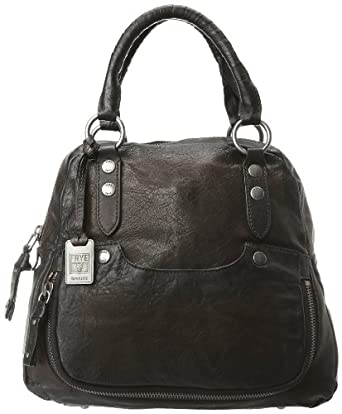 FRYE Elaine Vintage Antique Pull-Up Backpack,Smoke,One Size