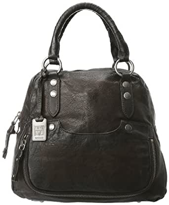 FRYE Elaine Vintage Antique Pull-Up Backpack,Smoke,One Size