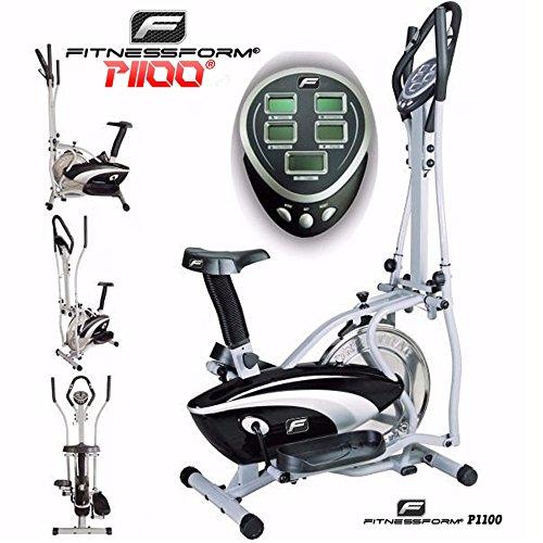 Fitnessform® P1100 Cross Trainer 2-in-1 Fitness Elliptical Exercise Bike (New Model)